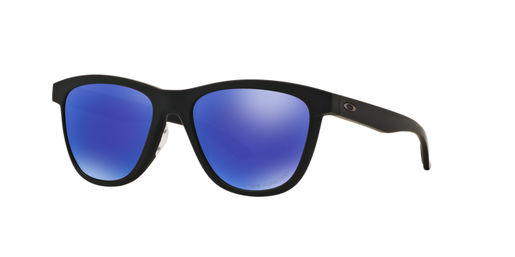 f2f55cb234 OAKLEY Sunglasses MOONLIGHTER Matte Black   Violet Iridium Polarized  OO9320-09 OO9320-09