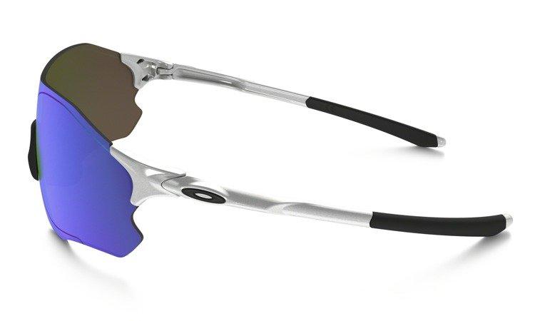 2885b1b2b1 ... Oakley Sunglasses EVZERO PATCH Sliver Sapphire Iridium OO9308-04 ...