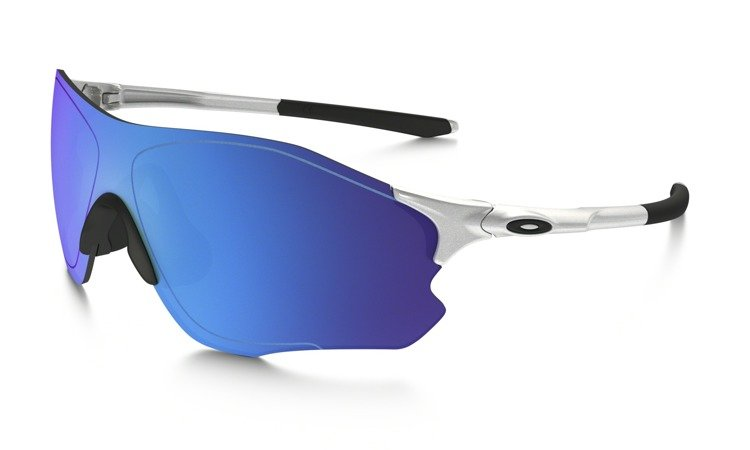 3aeb532f6b ... Oakley Sunglasses EVZERO PATCH Sliver Sapphire Iridium OO9308-04 ...