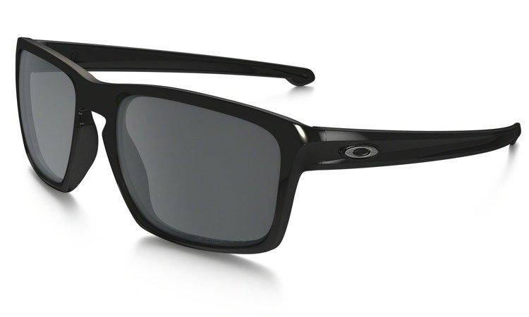 ae582214e8d ... Oakley Sunglasses SLIVER Polished Black Black Iridium Polarized OO9262-09  ...