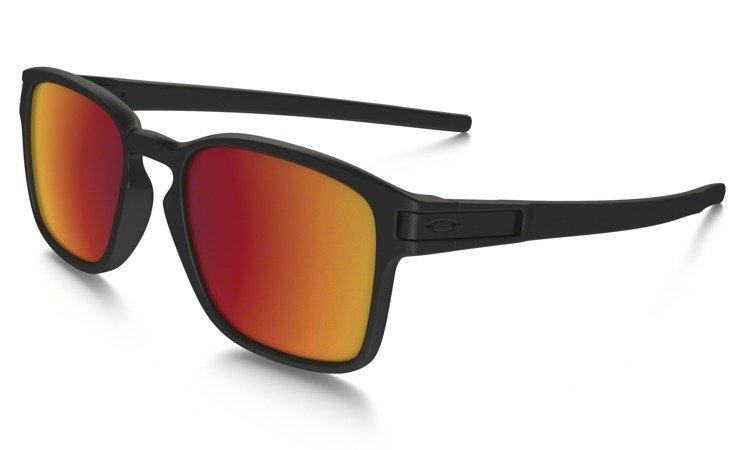 7f18ea3235d ... Oakley Sunglasses LATCH SQ Matte Black Torch Iridium OO9353-03 ...