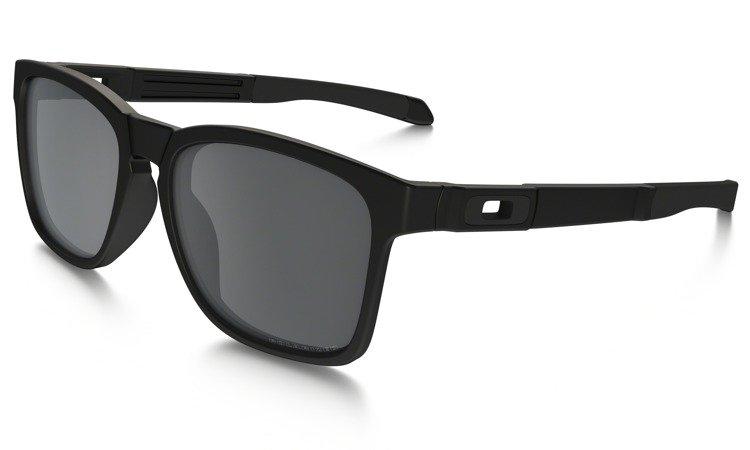 975ffb0949 Oakley Sunglasses CATALYST Matte Black Black Iridium Polarized OO9272-09  OO9272-09
