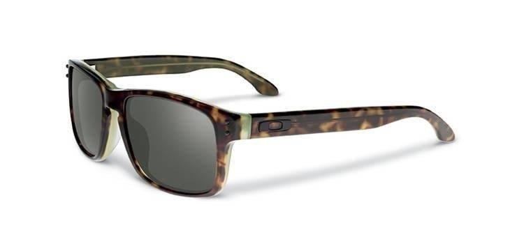 fcb427d262 Oakley Sunglasses HOLBROOK LX Tortoise Green Dark Grey OO2048-01 OO2048-01