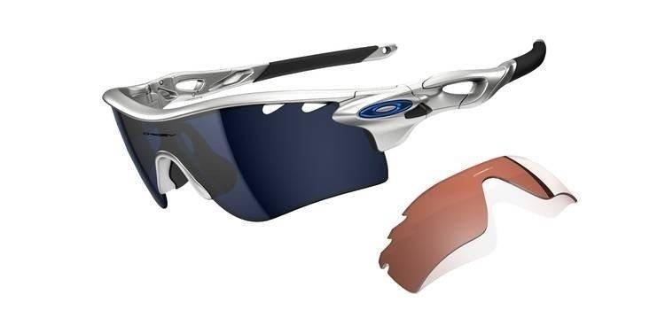 233750aa11a Oakley Sunglasses RADARLOCK PATH Silver Ice Iridium Vented   VR28 Vented  OO9181-21 OO9181-21