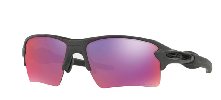 fd0ddaf5ecc02 Oakley Sunglasses FLAK 2.0 XL Grey Prizm Road OO9188-49 OO9188-01 ...