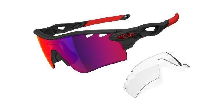 a6132ee8583 Oakley Sunglasses RADARLOCK PATH Matte Black Ink OO Red Iridium Polarized    Clear Vented oo9181-06 Oakley Sunglasses RADAR PATH Matte Black Ink OO Red  ...