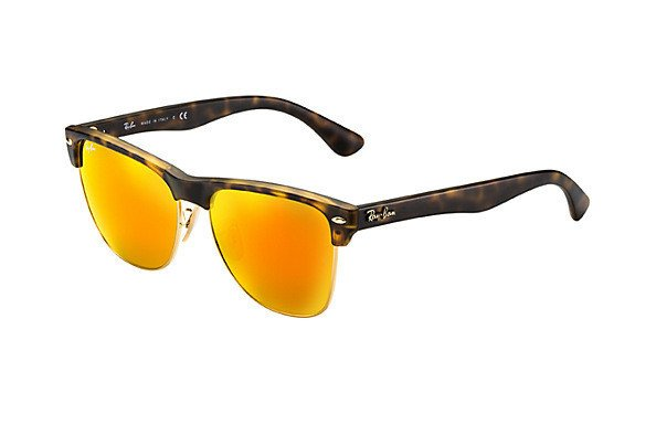 6e518f683df Ray-Ban Sunglasses CLUBMASTER OVERSIZED RB4175 - 6092 69 RB4175 - 6092 69