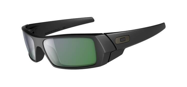 a87006e204 Oakley Sunglasses GASCAN Matte Black Emerald Iridium 26-245 26-245 ...