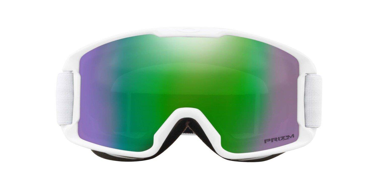 ... Oakley Goggles Line Miner Youth MATTE WHITE   Prizm Snow Jade Iridium  OO7095-07 ... be53399a43f