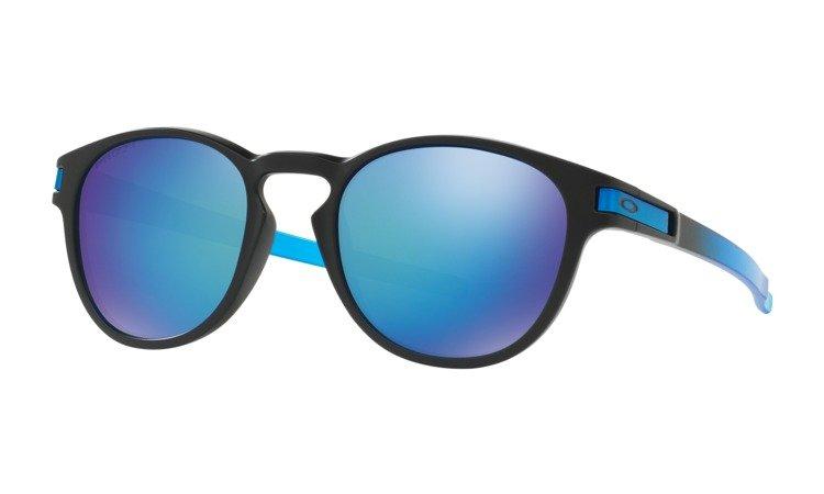 a488364e97 Oakley Sunglasses LATCH PRIZM™ SAPPHIRE FADE COLLECTION Matte Black   Prizm  Sapphire Polarized OO9265-1853 OO9265-18