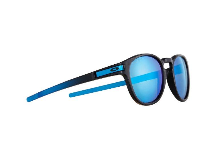 9c3ad56aa6 Oakley Sunglasses LATCH PRIZM™ SAPPHIRE FADE COLLECTION Matte Black   Prizm  Sapphire Polarized OO9265-1853