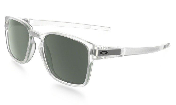 53cefe0af1 Oakley Sunglasses LATCH SQ Matte Clear Dark Gray OO9353-07 OO9353-07 ...