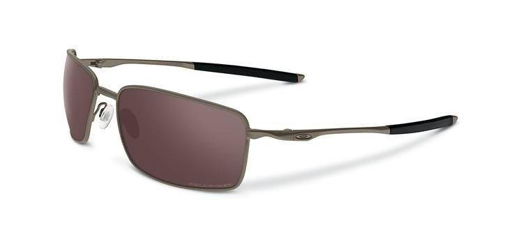 911d7c55361 Oakley Sunglasses TITANIUM SQUARE WIRE Brushed Chrome OO Black Iridium  Polarized OO6016-03 OO6016-03