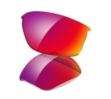 34189e8a0a6 Oakley Lenses FLAK JACKET OO Red Iridium Polarized 43-334 43-334 ...