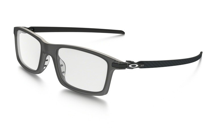 e36a71ecd6768 OAKLEY Optical Frame Pitchman Carbon Satin Grey Smoke OX8092-02 OX8092-02