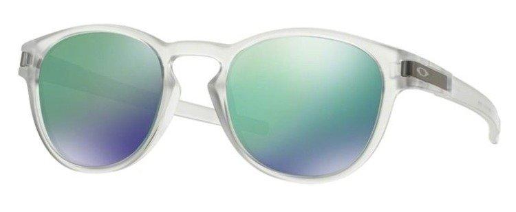 c74fea3808 OAKLEY Sunglasses LATCH Matte Clear   Jade Iridium OO9265-13 OO9265 ...
