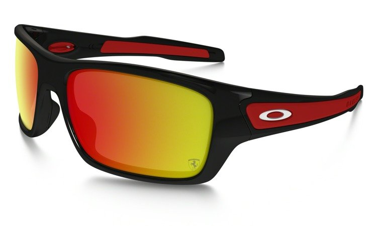 e0a62d71828 OAKLEY Sunglasses TURBINE Polished Black   Ruby Iridium 9263-39 OO9263-39