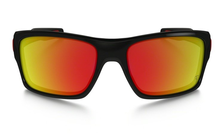 07e34660d0 ... OAKLEY Sunglasses TURBINE Polished Black   Ruby Iridium 9263-39 ...