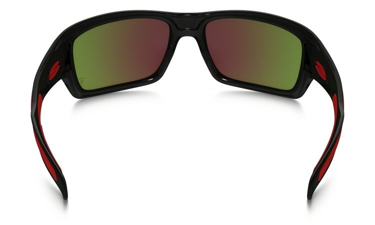 9d10bfe23e ... OAKLEY Sunglasses TURBINE Polished Black   Ruby Iridium 9263-39 ...