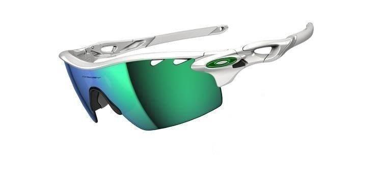 20460dbb11379 ... discount oakley sunglasses radarlock pitch polished white jade iridium  oo9182 03 cb4e9 0aa60