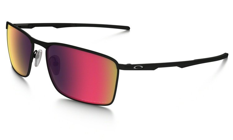 ... OAKLEY Sunglasses CONDUCTOR 6 Matte Black   OO Red Iridium Polarized  OO4106-05 ... 34c1ec6a14