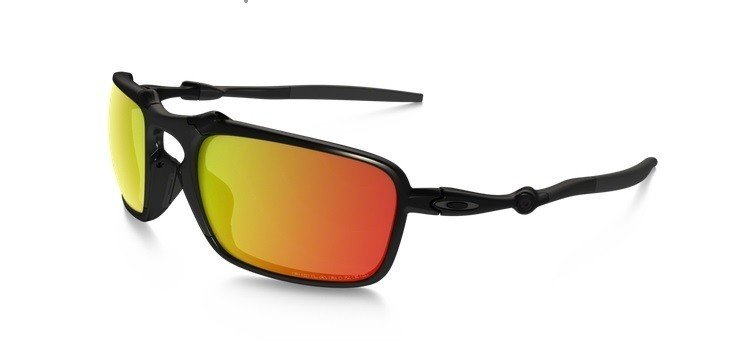 fb3ba53a81 Oakley Sunglasses BADMAN Dark Carbon Ruby Iridium Polarized OO6020-03  OO6020-03