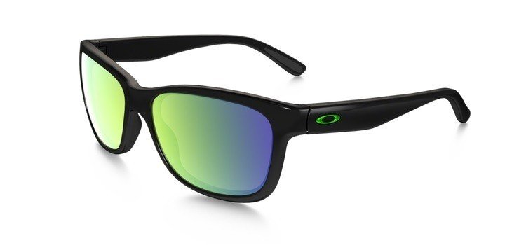 692215c404 Oakley Sunglasses OAKLEY FOREHAND Polished Black Emerald Iridium OO9179-28  OO9179-28