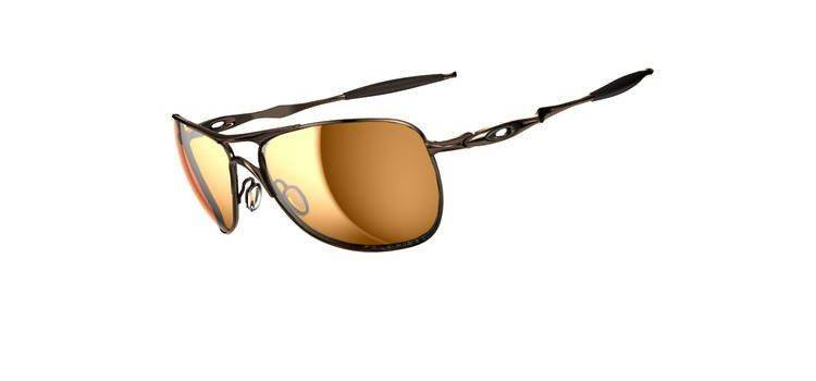9736c9f629d Oakley Sunglasses CROSSHAIR Brown Chrome Bronze Polarized OO4060-04  OO4060-04