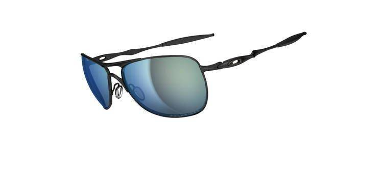 9298a2a73c Oakley Sunglasses CROSSHAIR Matte Black Emerald Iridium Polarized OO4060-13  OO4060-13