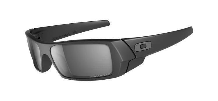 b3ae38a5e64 Oakley Sunglasses Gascan Matte Black  Black Iridium Polarized 12-856 12-856
