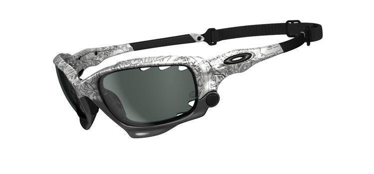 4c92a8e39 Oakley Sunglasses RACING JACKET White/Black Ghost Text/Clear Black Iridium  Photochromic OO9171-06