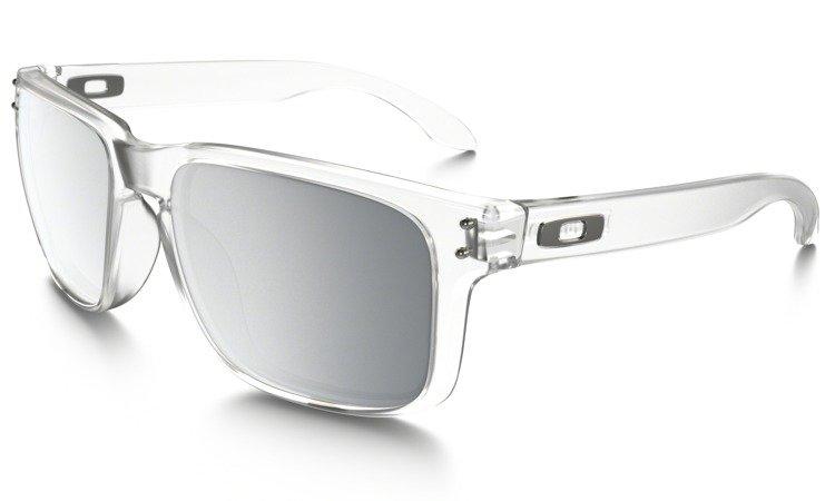 46cf4344d7 Oakley Sunglasses HOLBROOK Matte Clear Chrome Iridium OO9102-A2 OO9102-A2