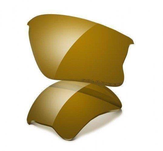 f0021d9c9c Oakley FLAK JACKET XLJ Accessory Lenses Gold Iridium POLARIZED 13-663  13-663