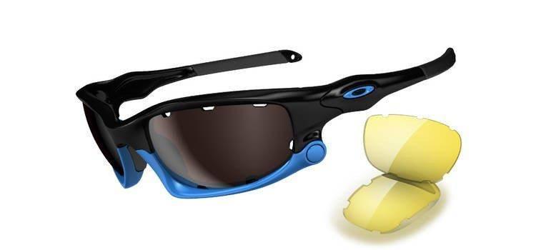 f014d3e2888 Oakley Okulary SPLIT JACKET Polished Black OO Black Irid Polar Vented    Yellow OO9099- ...