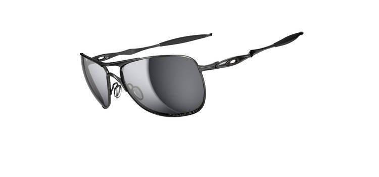 8a6c2200ce2ca Oakley Sunglasses CROSSHAIR Lead Black Iridium Polarized OO4060-06 ...