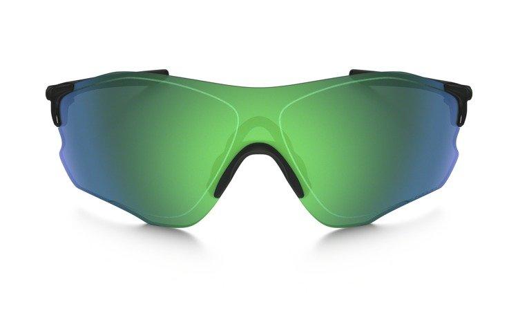 87818ee13ab ... Oakley Sunglasses EVZERO PATCH Polished Black Jade Iridium Polarized  OO9308-08 ...