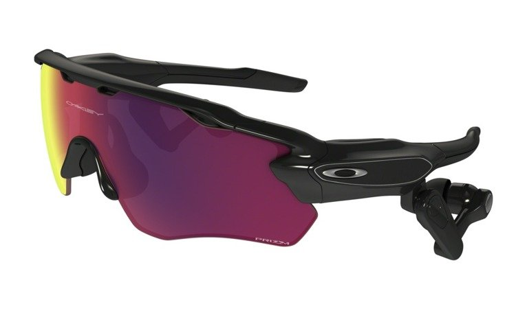 f3cae18fef ... OAKLEY Sunglasses RADAR PACE Polished Black Prizm Road OO9333-01 ...