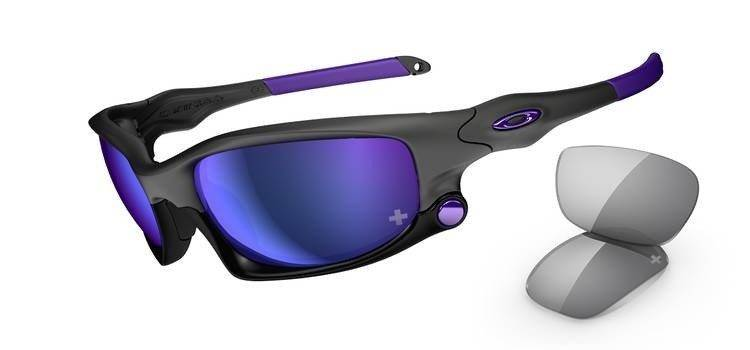 72786f391fae26 Oakley Sunglasses SPLIT JACKET Infinite Hero Carbon Violet Iridium, Grey  OO9099-17
