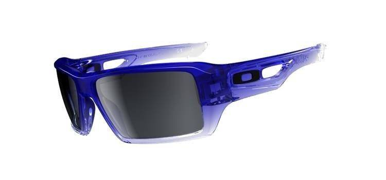 1caf8c2251 Oakley Sunglasses EYEPATCH 2 BLUE CLEAR FADE BLACK GREY GRADIEN OO9136-02  OO9136-02