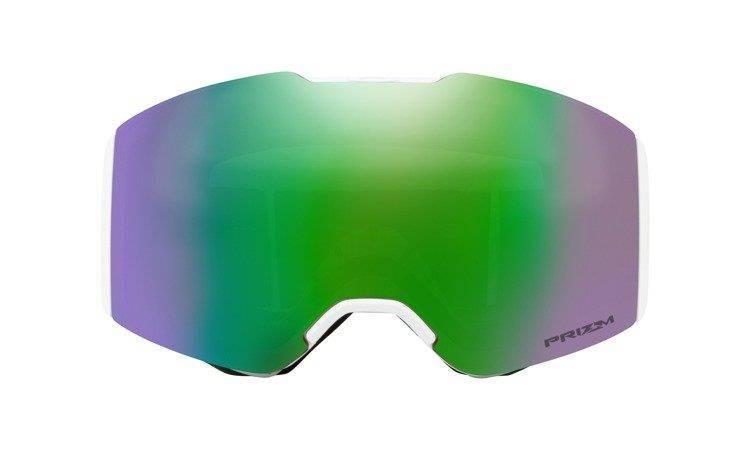 d3cdcd674f ... Gogle Oakley FALL LINE Matte White Prizm Snow Jade Iridium OO7085-09 ...