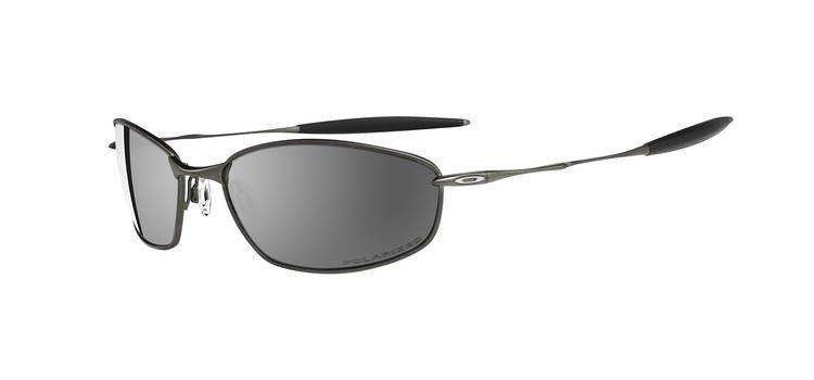 28cac326a77 Oakley Sunglasses WHISKER Pewter Black Iridium Polarized 12-849 12-849
