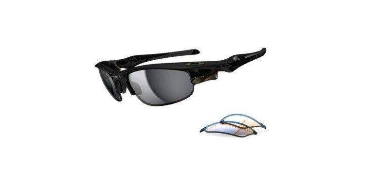 c415b6e1a5f Oakley Sunglasses FAST JACKET Polished Black Black Iridium   P42 Iridium  OO9097-16 OO9097-16