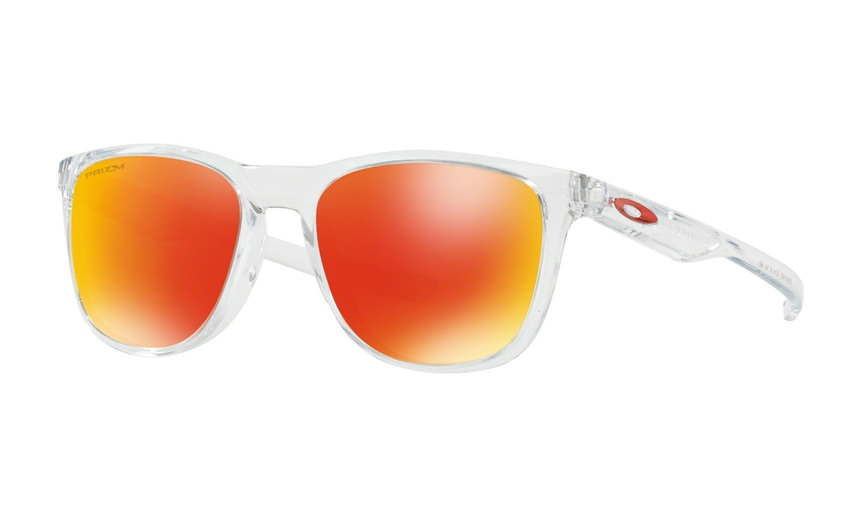 cdab548936e Oakley Sunglasses TRILLBE X Polished Clear Prizm Ruby OO9340-18 ...