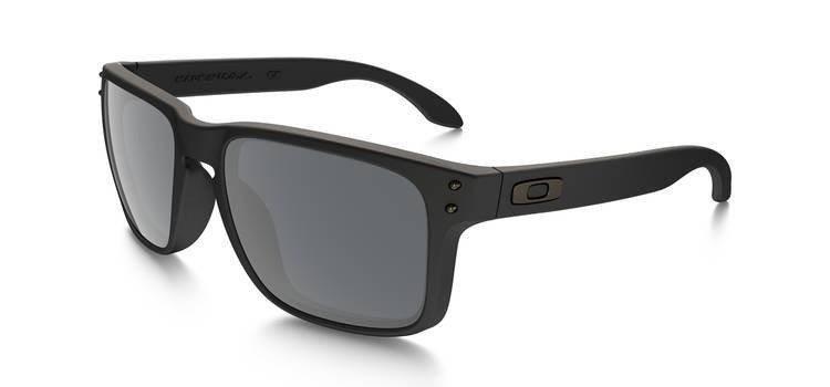 324af48bf1f Oakley Sunglasses HOLBROOK Matte Black Black Iridium Polarized OO9102-62  OO9102-62