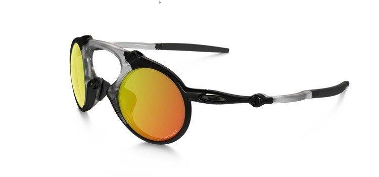 3f2c9b190b Oakley Sunglasses MADMAN Dark Carbon Ruby Iridium Polarized OO6019-04 OO6019 -04