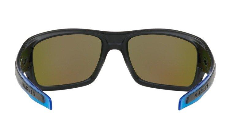94e06fdee5 ... Oakley Sunglasses TURBINE Matte Black   Prizm Sapphire Polarized OO9263- 36 ...