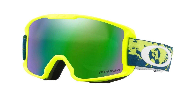 7988ff28421 ... Oakley Goggles Line Miner Youth Arctic Fracture Retina   Prizm Snow Jade  Iridium OO7095-13 ...