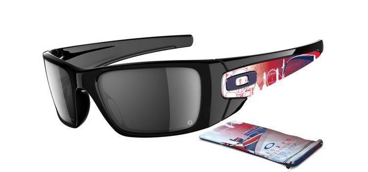 a16981246bd Oakley Sunglasses LONDON COLLECTION SPECIAL EDITION FUEL CELL Polished Black  Black Iridium OO9096-58 Oakley Sunglasses LONDON COLLECTION SPECIAL  EDITION ...
