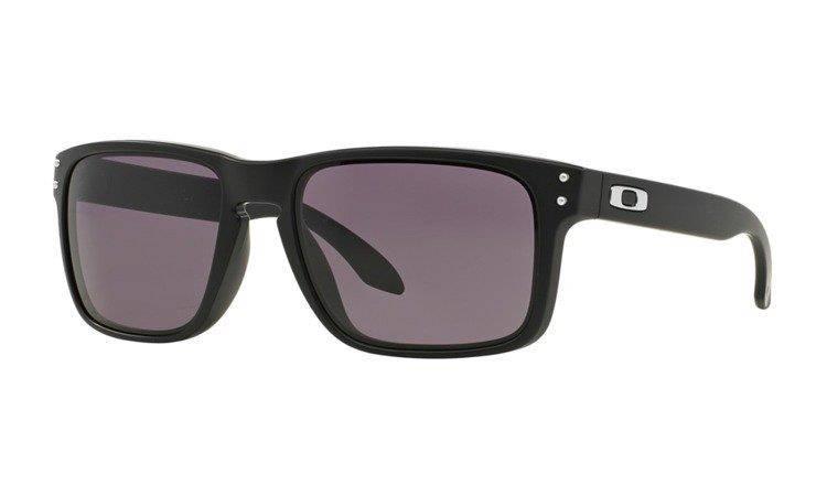 1a70f0caee Oakley Sunglasses HOLBROOK Matte Black Warm Grey OO9102-01 Oakley HOLBROOK  Matte Black Warm Grey OO9102-01