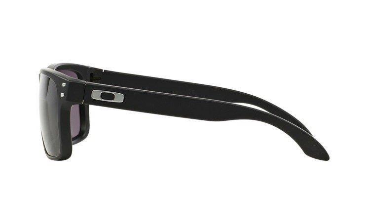 Oakley Sunglasses HOLBROOK Matte Black Warm Grey OO9102-01 Oakley ... fdf6d58ab0